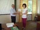 Вручение удостоверений о повышении квалификации по программе «Организация ветеринарно-профилактических мероприятий при производстве продукции птицеводства»